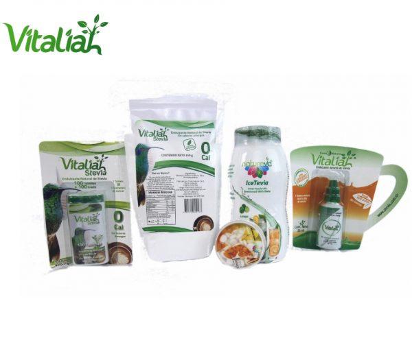 Kit Bájale al azúcar -Vitaliah Stevia